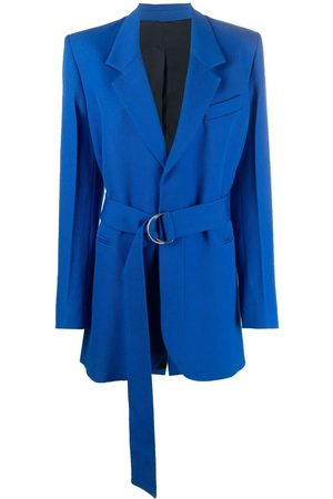 AMI Paris Belted mid-length blazer
