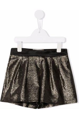ELIE SAAB JUNIOR Glitter tailored shorts
