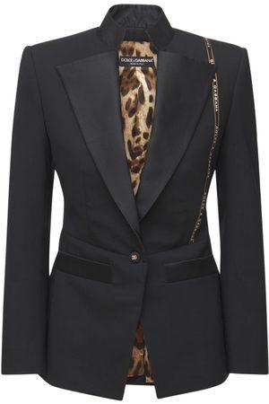 Dolce & Gabbana Jackett Aus Wollmischung