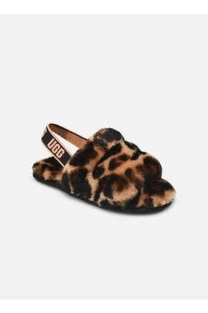 UGG Fluff Yeah Slide Panther Print Kids by