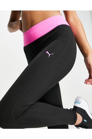 Puma Damen Leggings & Treggings - 7/8 training tights in black
