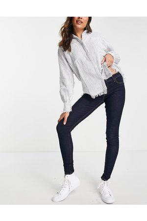 Levi's Levi's innovation super skinny jeans in celestial rinse-Blue