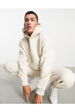 adidas Originals Adicolor Contempo hoodie in off white