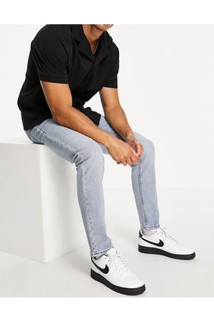 WESC Alessandro skinny fit jeans-Blue