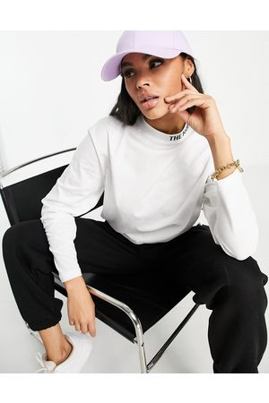 The North Face Zumu long sleeve t-shirt in white