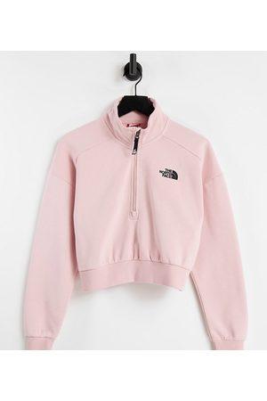 The North Face Damen 1/4 zip fleece in pink Exclusive at ASOS