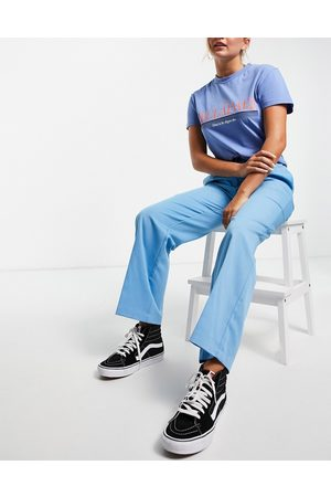Noisy May Exclusive dad trousers co-ord in blue