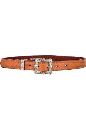 Golden Goose Frame Belt in - Cognac. Size 75 (also in 80, 85, 90).