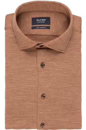 Olymp Herren Business - Jerseyhemd Soft Business Tailored Fit
