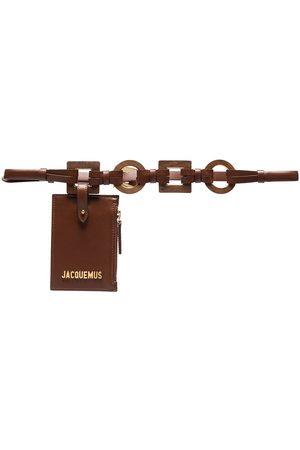 Jacquemus Damen Gürtel - La Ceinture Ano leather belt bag