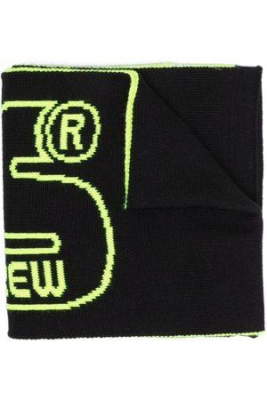 GCDS Logo wool scarf