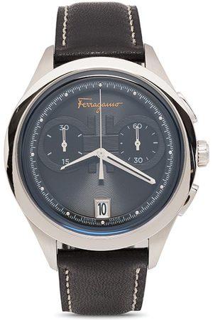 Salvatore Ferragamo Herren Uhren - Gancini chronograph quartz 42mm