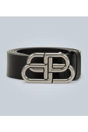 Balenciaga Ledergürtel mit BB-Schnalle