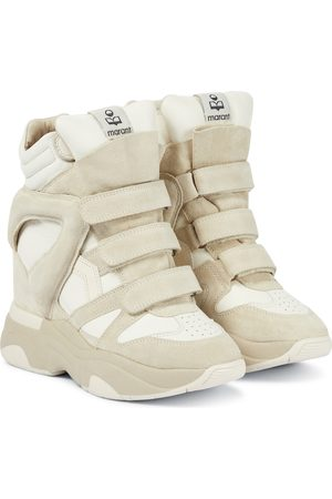 Isabel Marant Wedge-Sneakers Balskee aus Leder