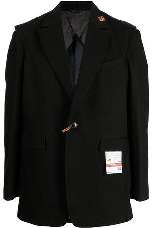 Maison Mihara Yasuhiro Herren Blazer & Sakkos - Distressed button-up blazer