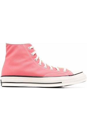 Sunnei Colour block hi-top sneakers