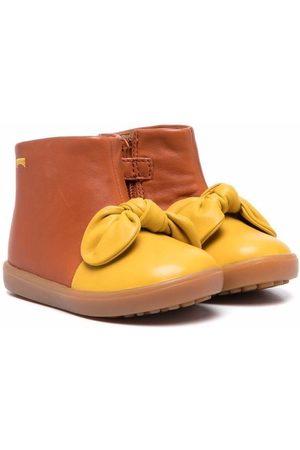 Camper Kids Pursuit bow-detail boots