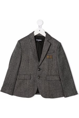 Dsquared2 Single-breasted fitted blazer