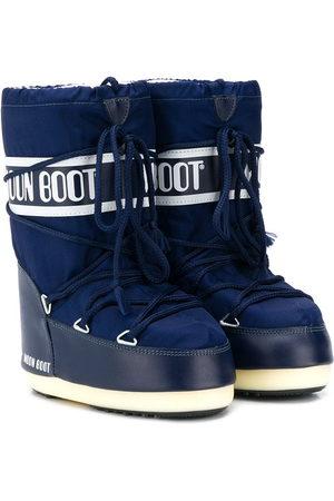 Moon Boot Kids Mädchen Snowboots - Logo lace-up snow boots