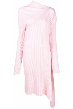 Marques'Almeida Damen Asymmetrische Kleider - Asymmetric knitted dress