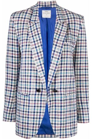 Forte Forte Damen Blazer & Sakkos - Plaid check blazer