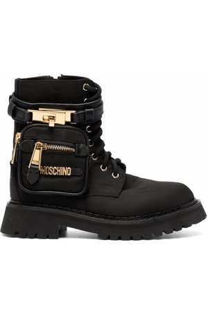 Moschino Zip-pocket ankle boots