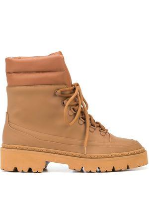 Gia Borghini Lace-up cargo ankle boots