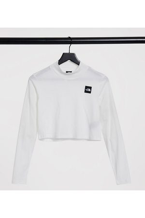 The North Face Nekku long sleeve t-shirt in white Exclusive at ASOS
