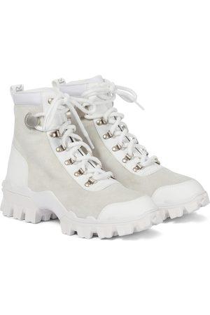 Moncler Ankle Boots Helis mit Veloursleder
