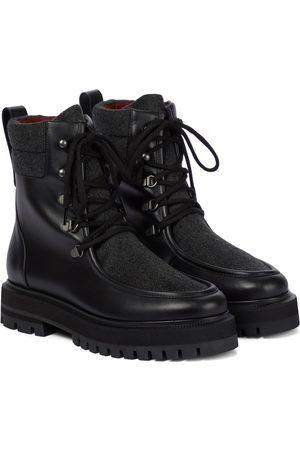 Loro Piana Ankle Boots Lomond mit Kaschmir