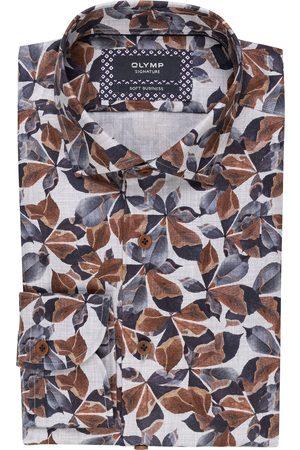 OLYMP SIGNATURE Hemd Soft Business Tailored Fit blau
