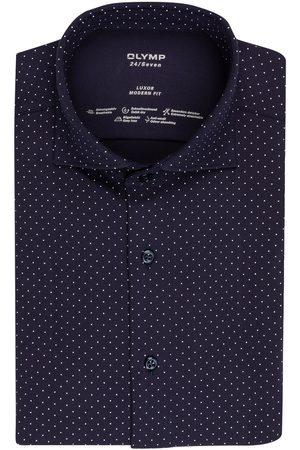 Olymp Jerseyhemd Luxor 24/7 Modern Fit blau