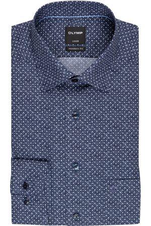 Olymp Herren Business - Hemd Luxor Modern Fit blau