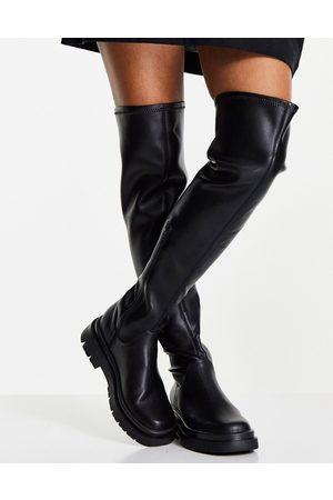 Steve Madden Gibbs over the knee boots in black