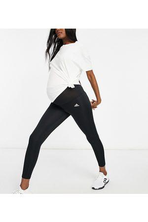 adidas performance Adidas Training Maternity Designed To Move 7/8 leggings in black