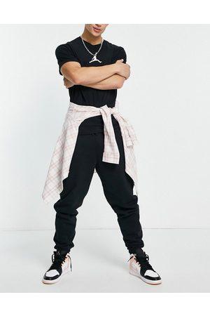 Jordan Nike fleece jogger in black