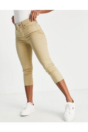 Levis Levi's 311 shaping skinny capri jeans in 22 coolest incense-Neutral