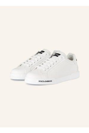 Dolce & Gabbana Sneaker Portofino weiss