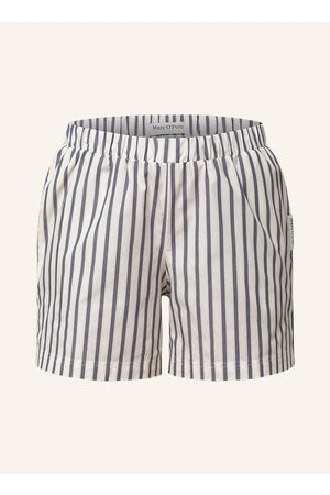 Marc O' Polo Schlafshorts weiss