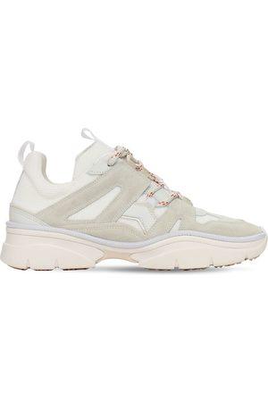 "Isabel Marant 30mm Sneakers Aus Mesh Und Wildleder ""kindsay"""