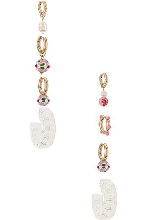 8 Other Reasons X Sofia Richie Hoop Earring Set in . Size all.