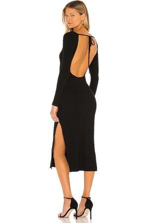 superdown Gina Backless Midi Dress in - . Size L (also in XXS, XS, S, M, XL).