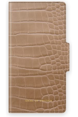 IDEAL OF SWEDEN Atelier Wallet iPhone 11 Pro Camel Croco