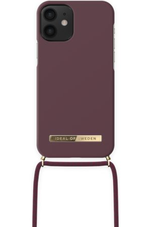 IDEAL OF SWEDEN Ordinary Necklace iPhone 12 MINI Deep Cherry