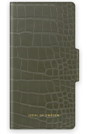 IDEAL OF SWEDEN Atelier Wallet iPhone 8 Plus Khaki Croco