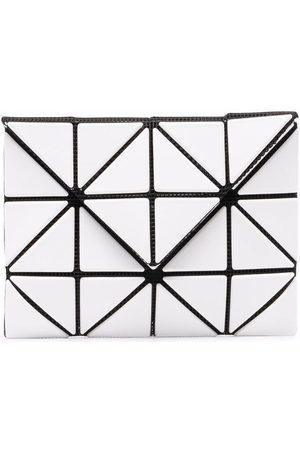 Issey Miyake Herren Geldbörsen & Etuis - Geometric-panelled bifold wallet