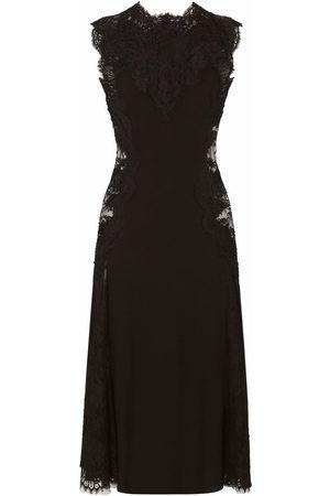 Dolce & Gabbana Damen Cocktail & Partykleider - Lace-panelled midi dress
