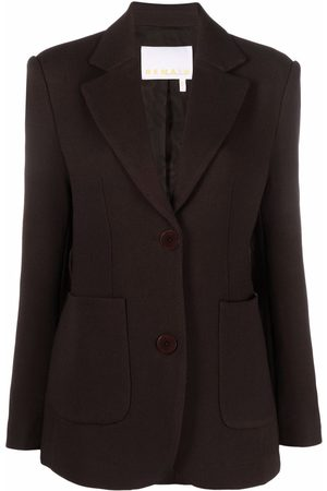 REMAIN Single-breasted tailored blazer