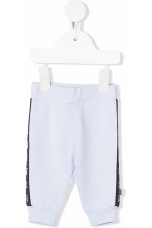 BOSS Kidswear Logo-print track pants