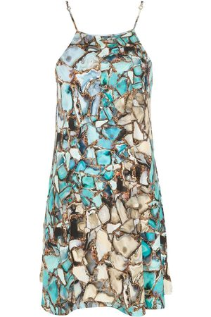 Lygia & Nanny Isis gemstone-print dress